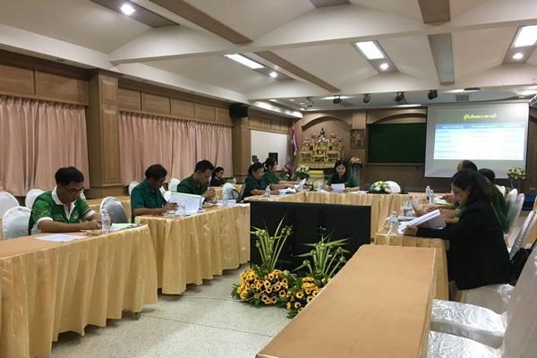 กลุ่มบริหารวิชาการ ประชุมหัวหน้ากลุ่มสาระฯ และคุณครู เพื่อวางแผนการดำเนินงานฯ
