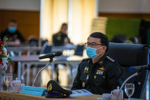 การประชุมผู้บริหารสถานศึกษาและผู้กำกับนักศึกษาวิชาทหาร ประจำปีการศึกษา 2563 ครั้งที่ 1