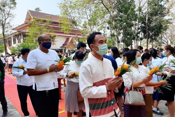 ประมวลภาพกิจกรรม โรงเรียนเพชรพิทยาคม ร่วมกิจกรรมวันมาฆบูชา ประจำปี 2564