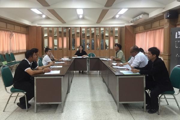 ประชุมวางแผนเตรียมจัดกิจกรรมการอยู่ค่ายพักแรมลูกเสือ เนตรนารี ประจำปีการศึกษา 2559