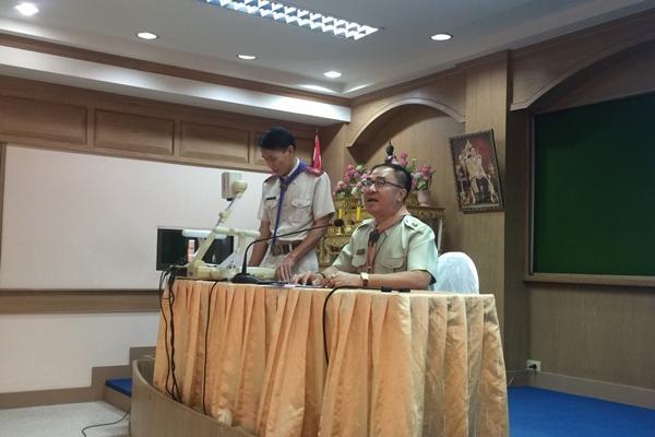 ประชุมวางแผนเตรียมจัดกิจกรรมลูกเสือ เนตรนารี ชั้นมัธยมศึกษาปีที่ 2