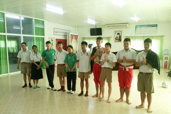 ชมรมทูบีนัมเบอร์วัน โรงเรียนเพชรพิทยาคม ฝึกซ้อมการแข่งขันระดับจังหวัด