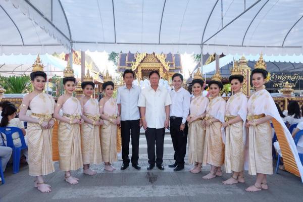 พิธีบวงสรวงศาลเจ้าพ่อหลักเมือง งานกาชาดมะขามหวาน นครบาลเพชรบูรณ์ ประจำปี2561
