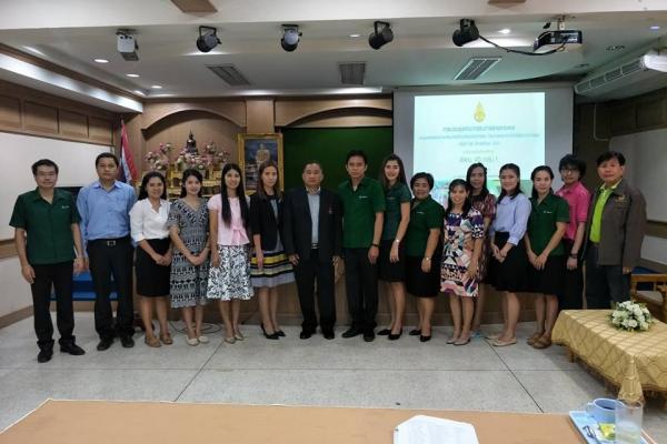 ประชุมคณะกรรมการฝ่ายลงทะเบียนและรายงานผลการแข่งขันฯ งานมหกรรมความสามารถทางศิลปหัตถกรรม วิชาการ และเทคโนโลยีของนักเรียน ปีการศึกษา 2561