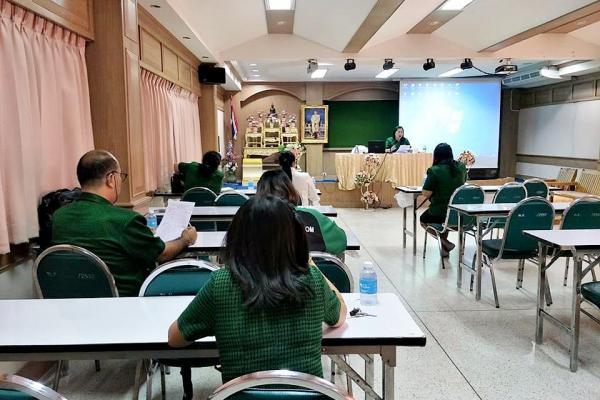 ประชุมวางแผนการดำเนินงานการรับนักเรียนเข้าศึกษาต่อ ม.1 และม.4 และการจัดการค่ายสะเต็มศึกษา