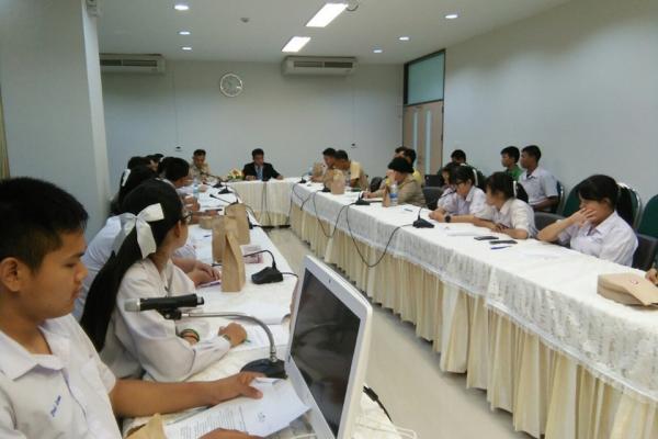 นักเรียนแกนนำ ศอ.ปส.ย.โรงเรียนเพชรพิทยาคม ได้เข่้าร่วมประชุมกับคณะที่มงานของ ศอ.ปส.ย.จังหวัดเพชรบูรณ์