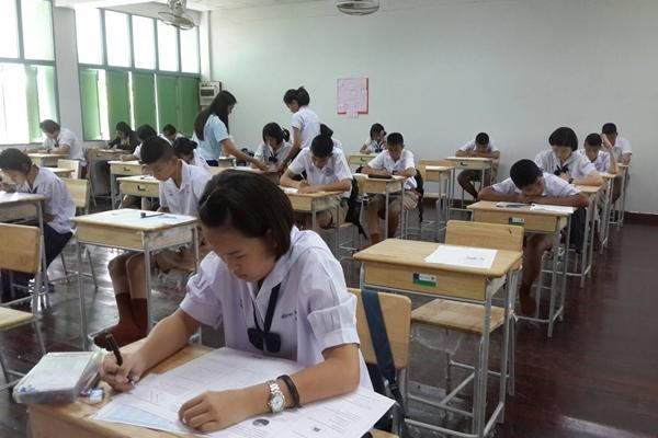 โรงเรียนเพชรพิทยาคมจัดสอบความเป็นเลิศทางคณิตศาสตร์และวิทยาศาสตร์ (TEDET) ประจำปี 2559