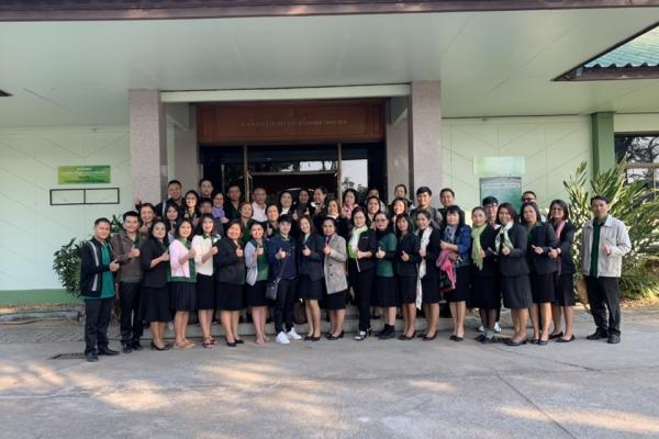 ประมวลภาพ ผู้บริหาร ครูและบุคลากร เดินทางไปส่ง ผู้อำนวยการสุพิชญา เหล็กแดง เพื่อรับตำแหน่งผู้อำนวยการโรงเรียนนาสนุ่นวิทยาคม
