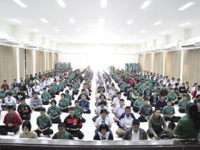กิจกรรมส่งเสริมคุณธรรมจริยธรรมนักเรียน