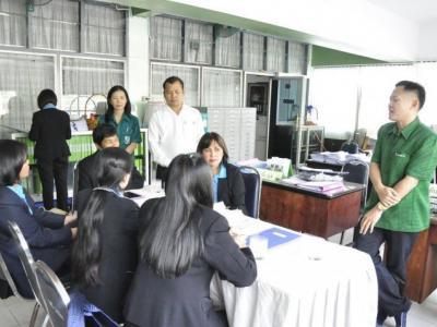 ศึกษาดูงานจากโรงเรียนสัตหีบวิทยาคม