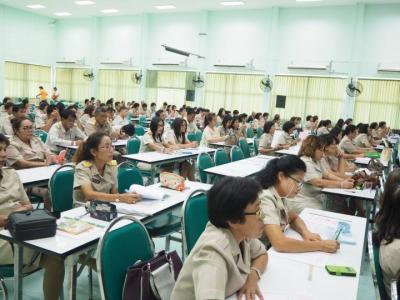 ประชุมครูสหวิทยาเขตเพชรพิทยาคม
