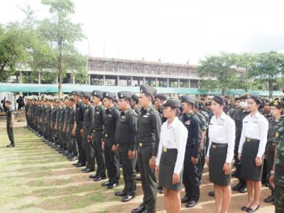 พิธีไหว้ครูนักศึกษาวิชาทหาร