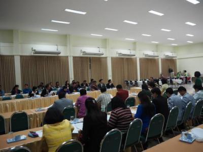 ประชุมการจัดงานมหกรรมวิชาการ