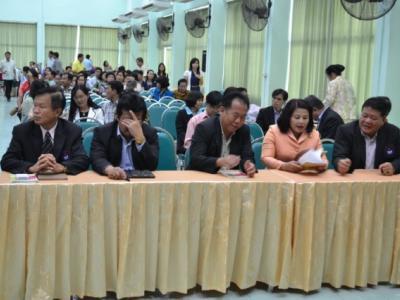 ประชุมเชิงปฏิบัติการขับเคลื่อนคุณภาพการศึกษา