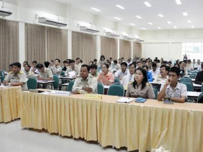 คณะผู้บริหารประชุมประเมินมาตรฐาน การปฎิบัติงานโรงเรียนมัธยมศึกษา